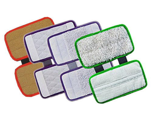 4 Replace Pad Carpet Cleaning Hard Floor Pad Scrub for Shark Sonic Duo KD400W