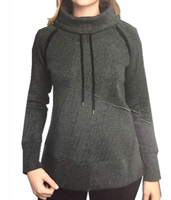 Kirkland Signature Girls/' Long Sleeve Sweatshirt Pullover-PURPLR M-10
