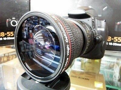 Super Ultra Wide Angle Macro Fisheye Lens For Sony Alpha Digital Camera SLT .16x