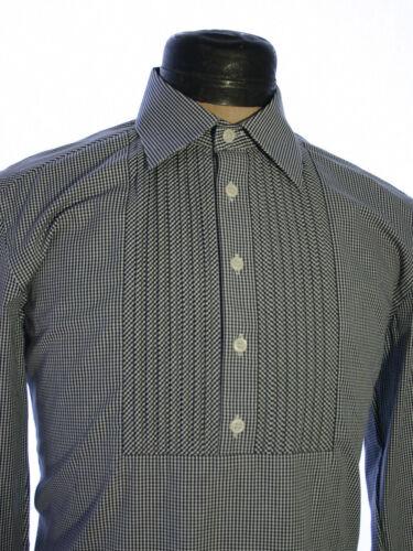 La Camisa Trachtenhemd Pfoad Steiermark Hemd Tracht langarm grau schwarz karo