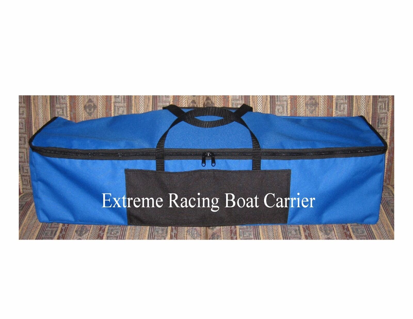 RC Boat Carrier RC Traxxas Spartan Boat Borsa Field Tote 42  Royal blu&Blk NEW
