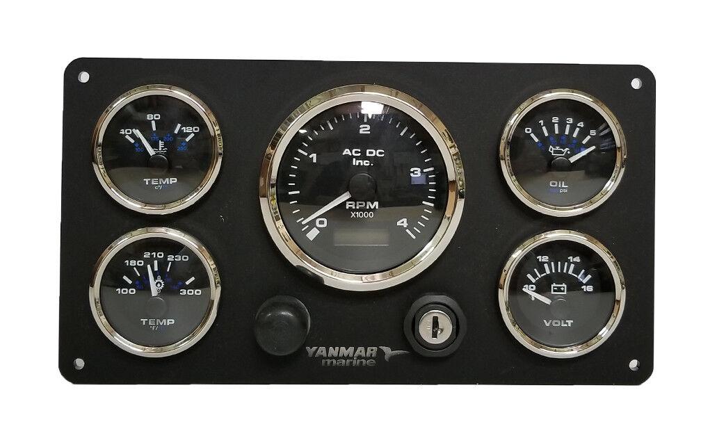 Cluster Diesel Yanmar Instrument USA Hergestellt Vorverkabelt Bereit Install