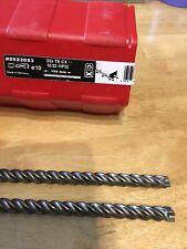 Hilti TE-CX Hammer drill bit 6mm x 220mm TE-CX 6//22 working length 150mm