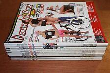 rivista ANNATA COMPLETA MAGAZINE CICLISMO TUTTO MOUNTAIN BIKE MTB 1/12 anno 2008