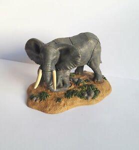 AgréAble Animal Diorama 3d Puzzle Éléphants Lot De Craft Bonne Conservation De La Chaleur