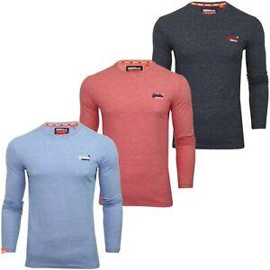 Superdry-039-Orange-Label-039-Long-Sleeved-T-Shirt
