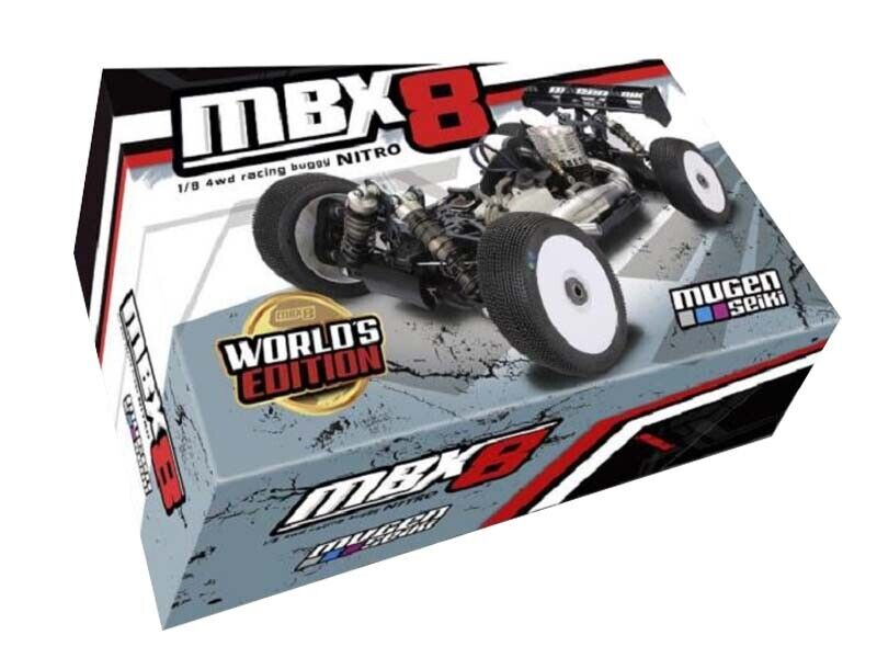 Mugen Seiki 1 8 GP 4wd mbx-8 Worlds edizione  RC-auto  fino al 50% di sconto