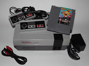 nintendo nes system console lot w accs guarantee new 72. Black Bedroom Furniture Sets. Home Design Ideas