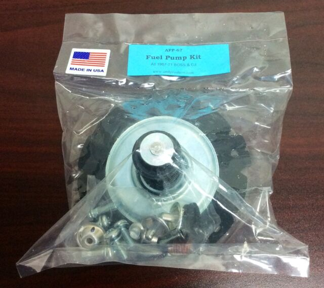 Afp-67 Mustang AMK Products Carter Fuel Pump Rebuild Kit Boss 302/boss  429/428cj