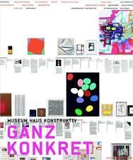 Fachbuch Ganz Konkret, ZERO, konstruktive und konzeptuelle Kunst, REDUZIERT, NEU