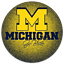 Michigan-034-Go-Blue-034-034-M-034-Monogram-Circle-Magnet-Type-Michigan-Wolverines thumbnail 2
