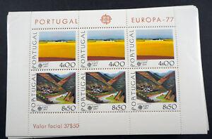1977-Portugal-Block-Europa-034-Landschaften-034-per-100-MNH-Bl-20-ME-4000