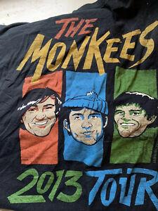 Monkees-concert-T-shirt-2013-Peter-Tork-Rare-2xl