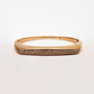 Michael-Kors-Rose-Gold-Tone-Rhinestone-Bangle-Bracelet