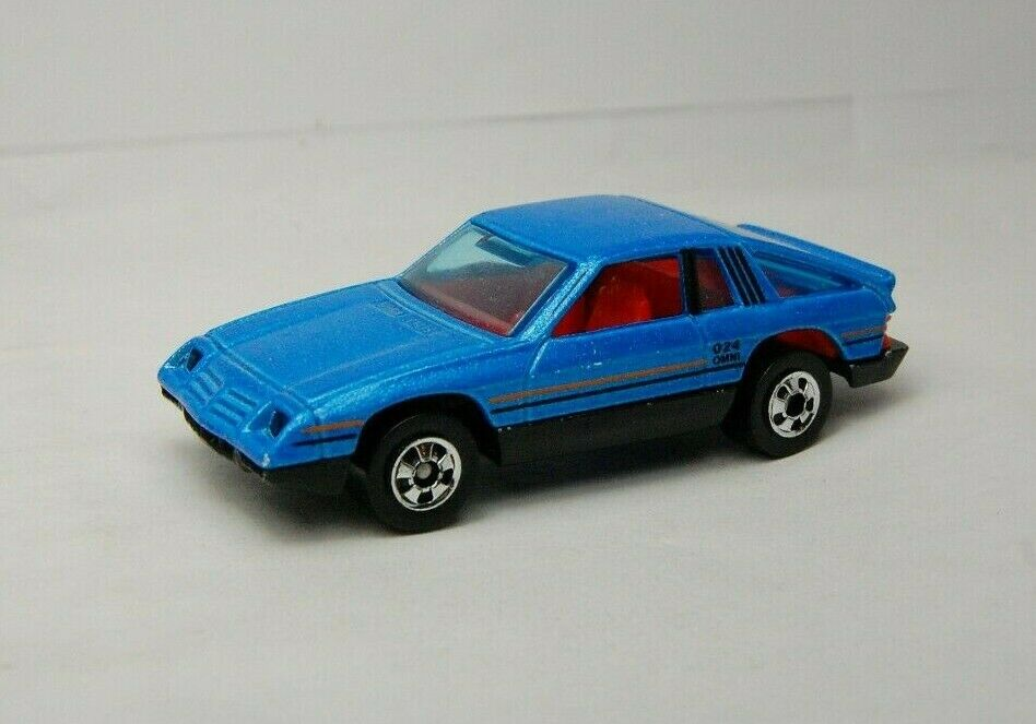 Hot Wheels 1980 Omni 024 Near Mint Unplayed (Rare bluee Variation) Metal Base