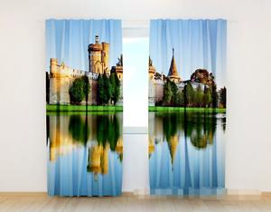 3d muro río 975 bloqueo foto cortina cortina de impresión sustancia cortinas de ventana