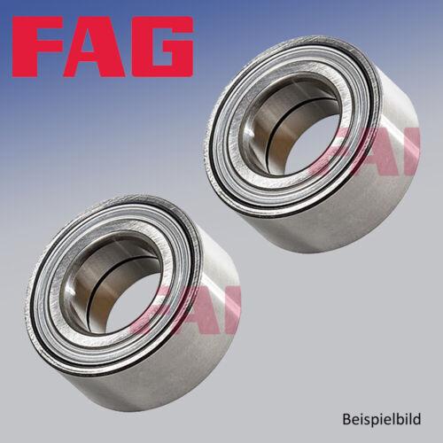2x Radlagersatz für Radaufhängung Hinterachse FAG 713 6493 30