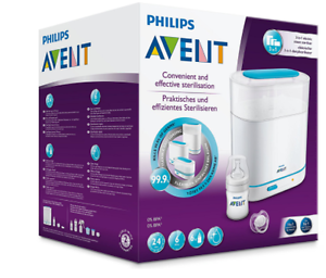 Philips-AVENT-3-in-1-Electric-Steam-Steriliser-BBA-FREE-Cleaner