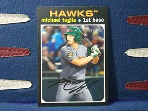 2020-Topps-Heritage-Minor-League-160-Michael-Toglia-Boise-Hawks