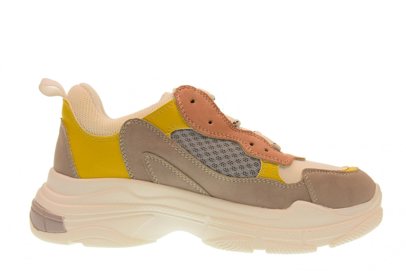 Gold&Gold A18u gt529 schuhe woman low Turnschuhe gt529 A18u YELLOW-GRAY 8e48b3