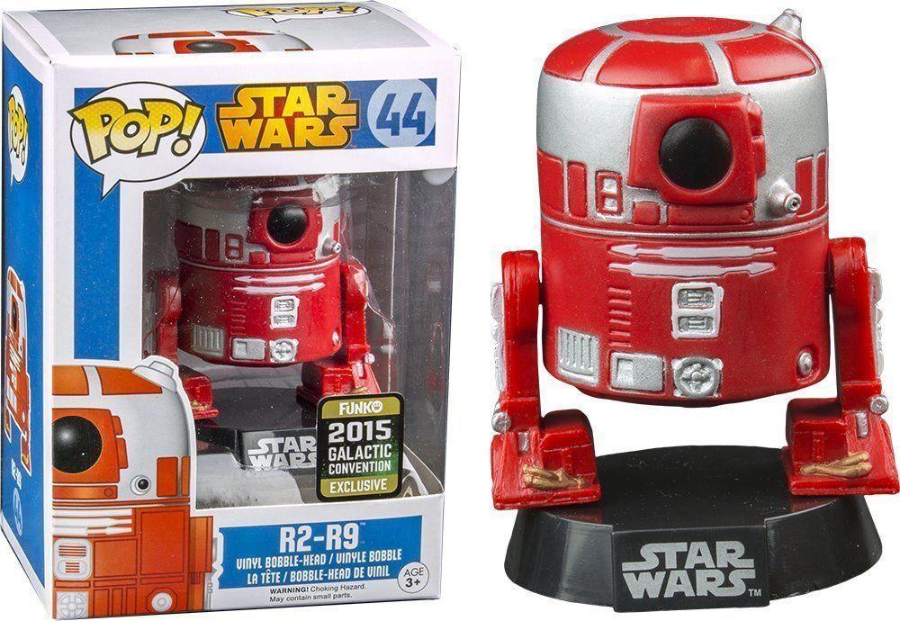 Funko Pop Estrella Wars  44 Galactic Convención de R2-R9 (2015) Figura de Vinilo