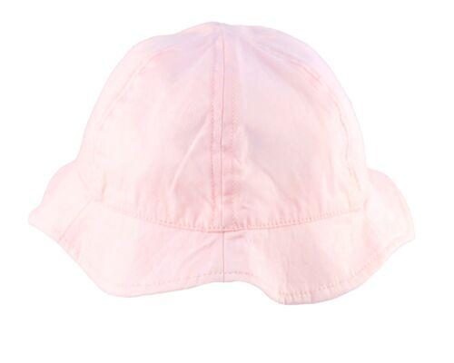 Baby Sun Hat Girls Summer Bucket Beach Cap Wavy Brim Infant Toddler 6-24 Months