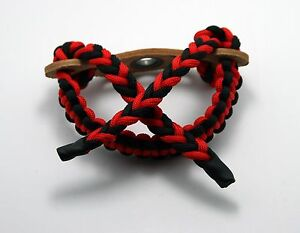 Archery-Bow-Wrist-Sling-550-Pound-Paracord-Cord-Strap-Copper-Ring-High-Quality