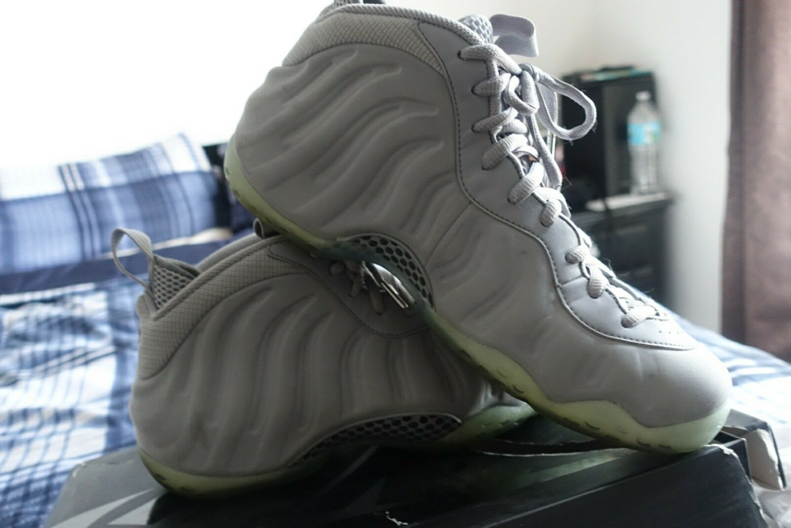 nike foamposite wolf grey  Cheap and fashionable