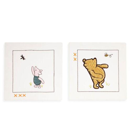 My Friend Pooh 2pc Winnie the Pooh Canvas Wall Art by Disney Baby Sage//Ivory