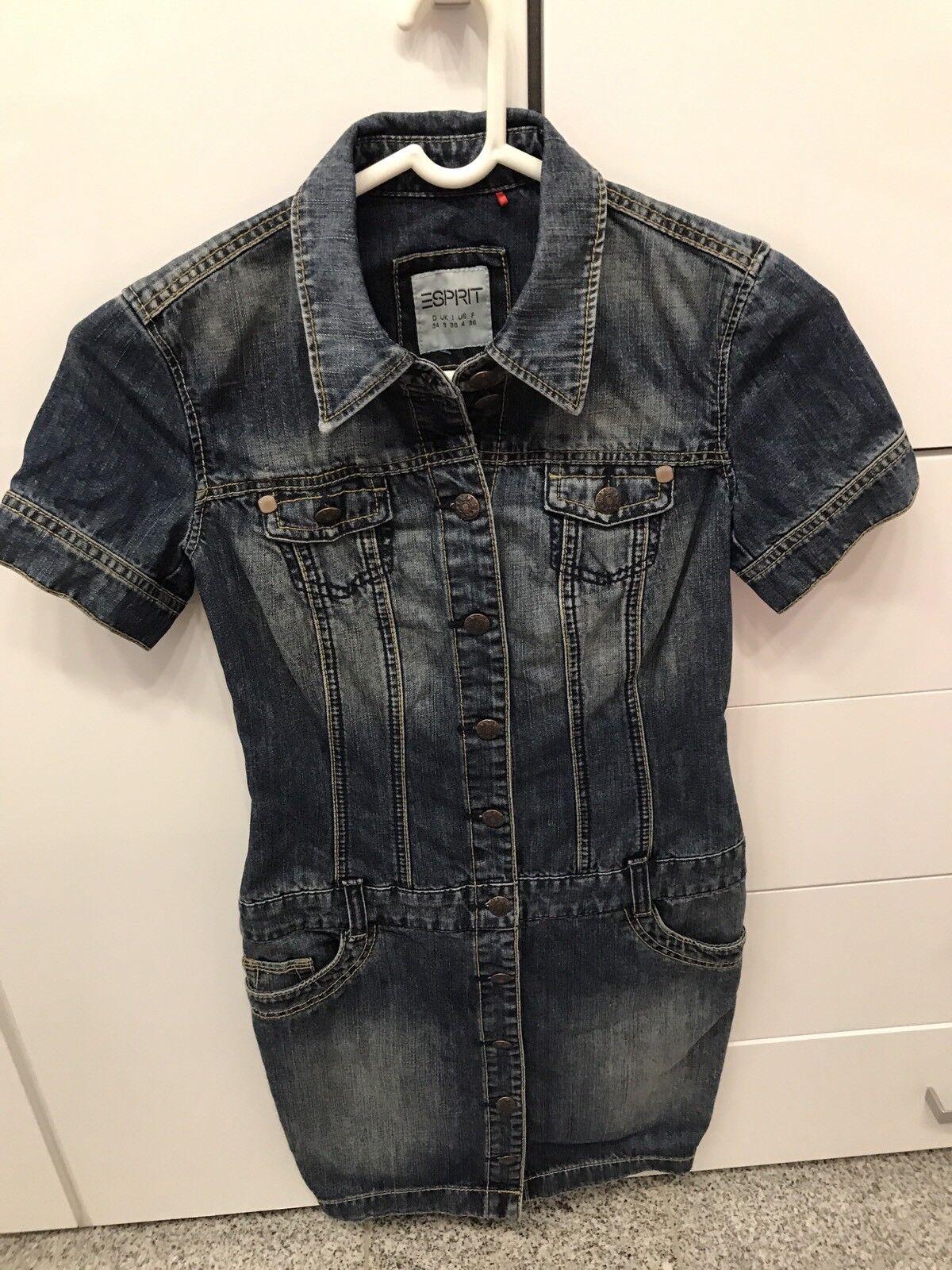 Esprit Kleid Jeanskleid Gr 34
