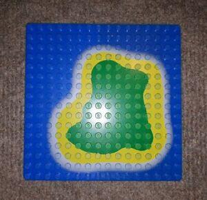 Lego-Bauplatte-3867p01-plaque-de-base-Set-6260-6265-PIRATES-ile-Plaque