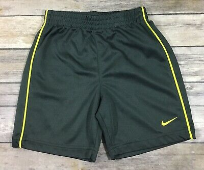 NWT NIKE BOYS TRAINING SHORTS SIZE YOUTH LARGE ~ MSRP $20.00 ~ AMARILLO /& GRAY