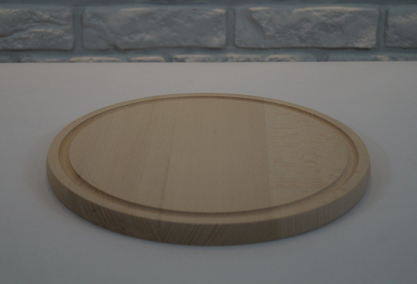 Round Wooden Cutting Chopping Board 1.8 x 28 cm, set of 1, 10, 30
