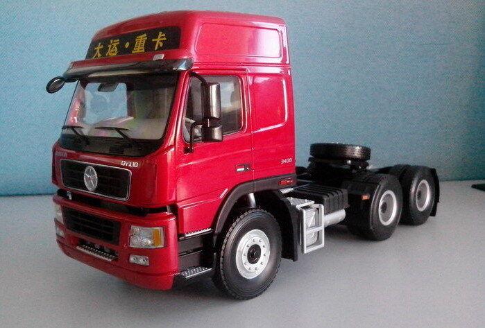 Semirremolque Dayun 1 24 Diecast Modelo Camión Tractor
