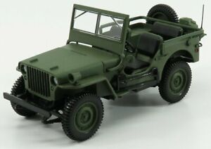NOREV JEEP   WILLYS CABRIOLET OPEN 1942   MILITARY GREEN