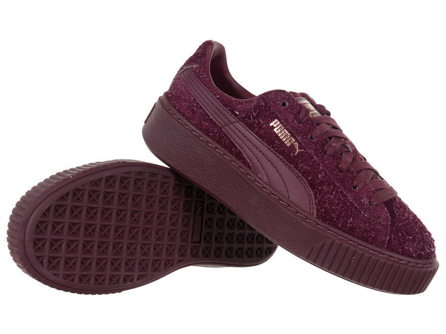 Femmes Turnchaussures Suede Platform Elemental cuir chaussures de loisirs