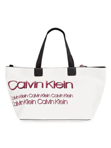 Calvin-Klein-Celia-Vegan-Leather-Water-Resistent-Large-Tote-White-amp-Pink