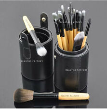 18 pieces New High Quality Makeup Brushes Set w/ Black Leather Brush Stand #820