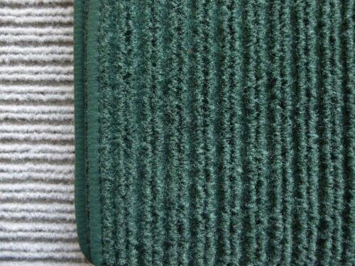 Lengenfelder Rips Fußmatten für Mercedes Benz W116 SEL PINIE dunkelgrün NEU
