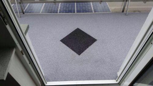 Steinteppich Schwarz nero ebano  für 2m²-2,5m² bei Schichthöhe 6mm