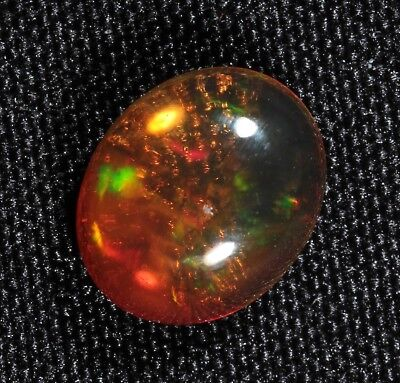 Rare Opal Gemstone 20x15x7MM Natural Mexican Fire Opal Gemstone Mexican Fire Opal Cabochon Perfect for Jewelry