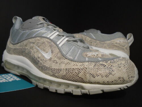 NIKE AIR MAX 98 / SUPREME SNAKESKIN SAIL OFF WHITE