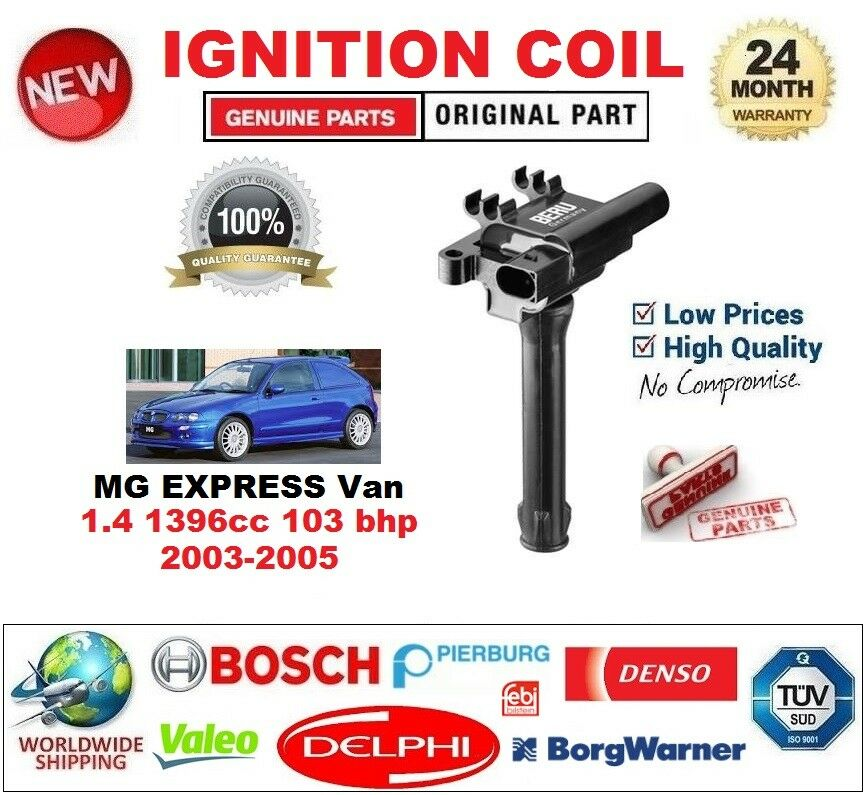 Für MG MG MG Express Van 1.4 1396cc 103 Bhp 2003-2005 Zündspule 2-polig Typ SAE 9d0135