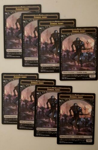 010//019 8x War of the Spark MTG Magic The Gathering NM Zombie Army Token