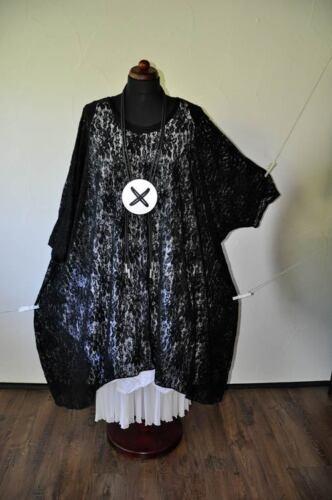 Noir Tunique 58 52 56 Noble Superposition 60 Ballon 54 Dentelle xxxxxl Robe 62 dXdwqCF