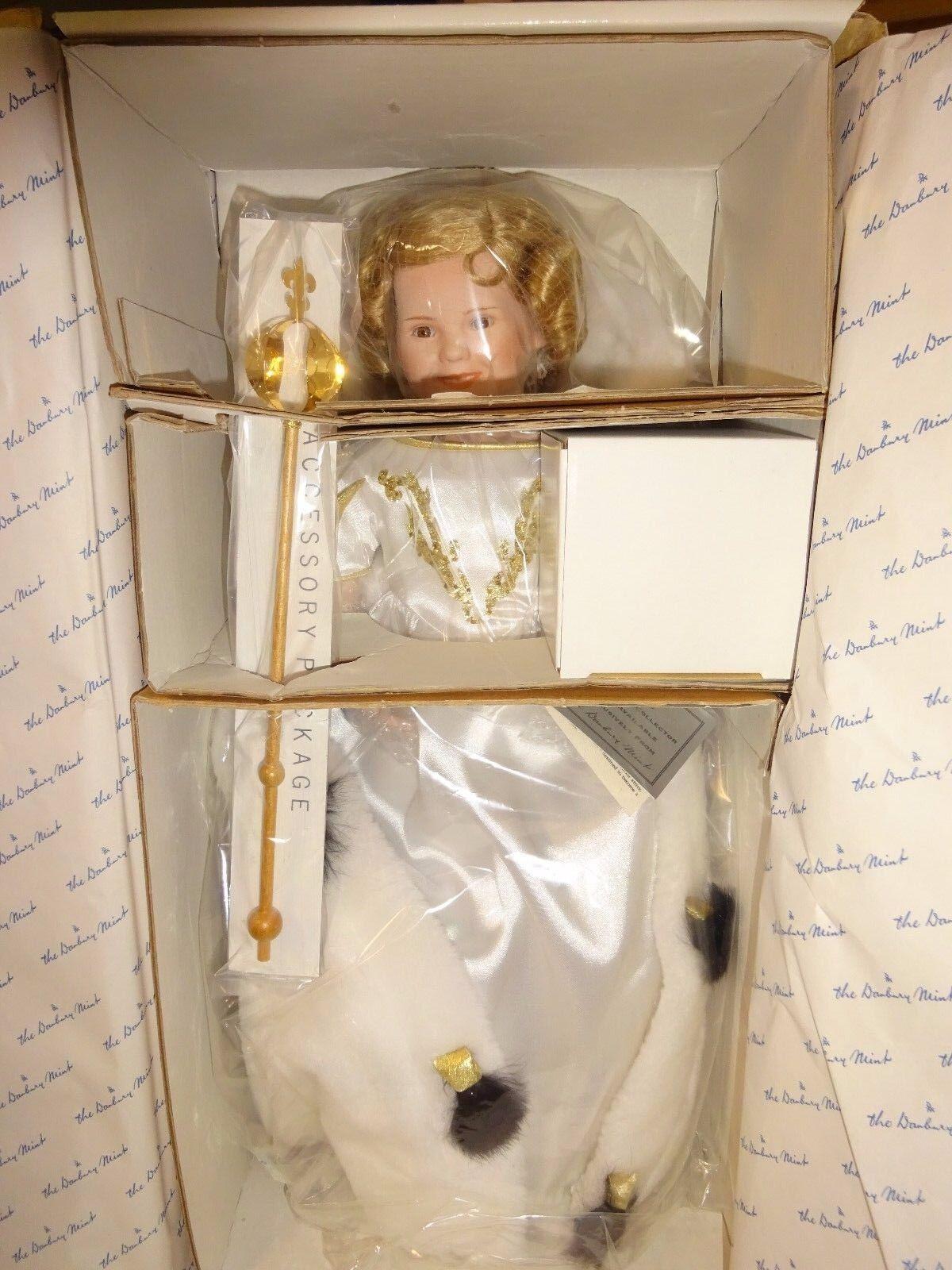 El DANBURY MINT Shirley Temple Colector Muñeca Pequeña Princesa Nuevo en Caja W D7422 Corona