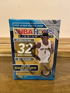 2019-20-NBA-HOOPS-PREMIUM-STOCK-BLUE-BLASTER-BOX-32-CARDS-ZION-JA-MORANT-ROOKIE