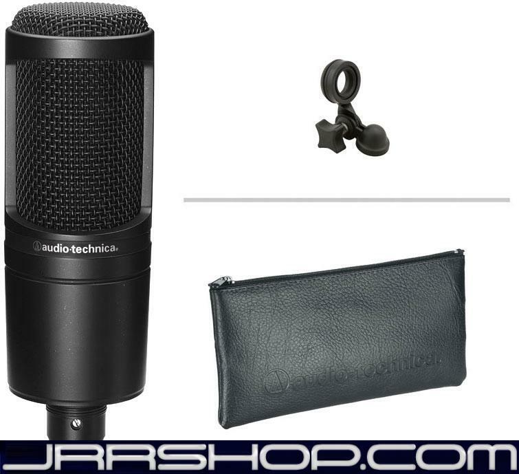 Audio Technica AT2020 microphone + NOS POP Filter Bundle JRR Shop