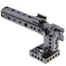 CAMVATE Camera DSLR Top Handle Rig w/Plate Rod Clamp Cold Shoe For Canon Nikon