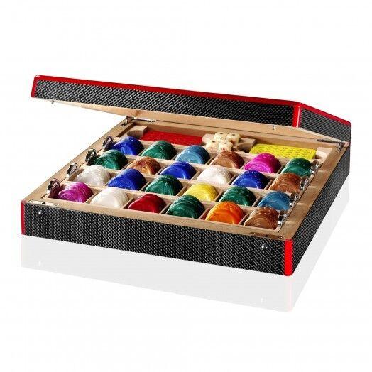 Genuine  Ferrari Shield giocos scatola Poker Set Bre nuovo Super RARE Limited  in linea